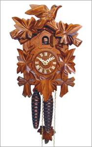 Unique-Nature-Clock-Furniture-Design-Engs-Cuckoo-Clock-by-Alexander-Taron-5-Leaf-Design-in-Walnut-Finish