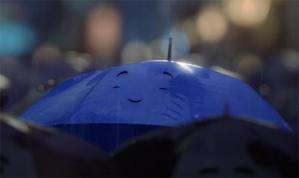 Picture from The Blue Umbrella by Pixar.